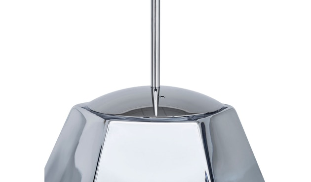 Tom Dixon - Cut Pendelleuchte - hoch - chrom - 6