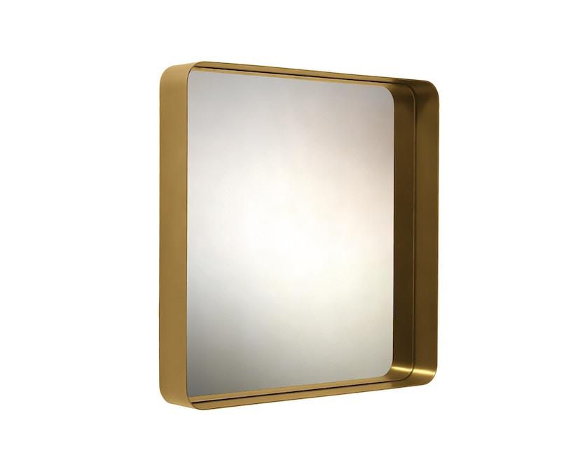 Classicon - Cypris Spiegel - Messing, Kristallglas - 70 x 70 cm - 1