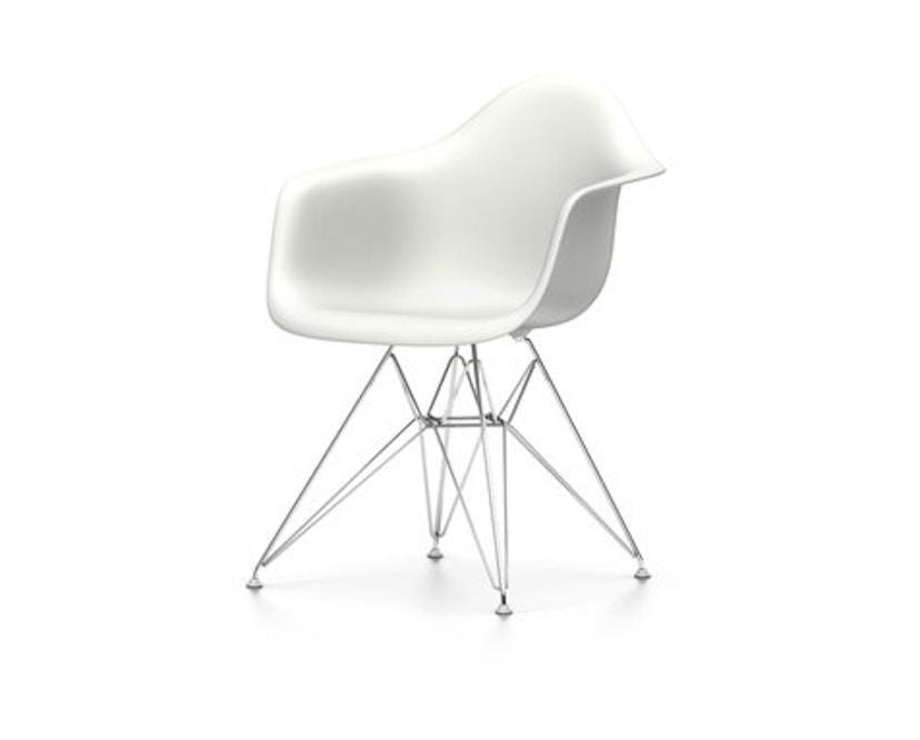 Vitra - DAR Eames Plastic Chair - weiß - Sitzhöhe 43 cm - 1