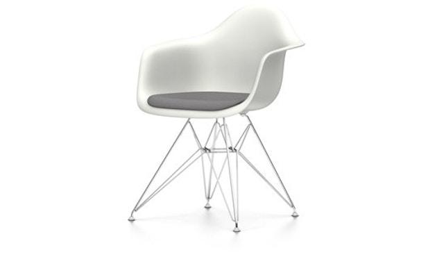 Vitra - DAR mit Sitzpolster - weiß - Sitzhöhe 46 cm - 1