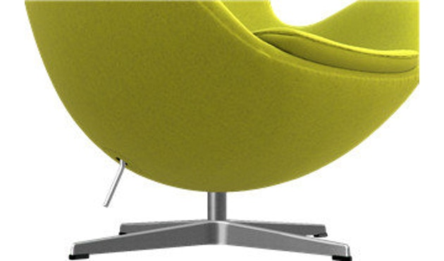 Fritz Hansen - Het ei - DM - 421 - geel - Divina Melange - 5