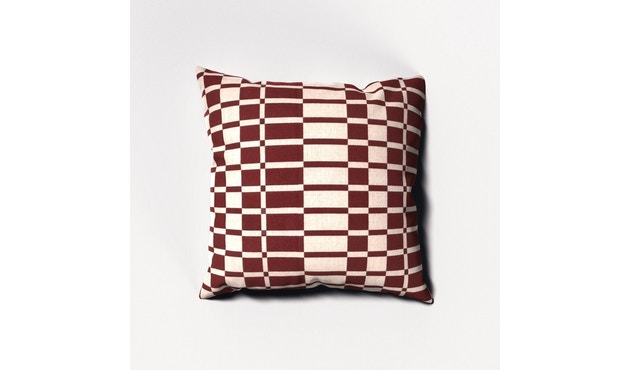 Kettal - Geometrics Kissen 65 x 65 - Dash Red - 1
