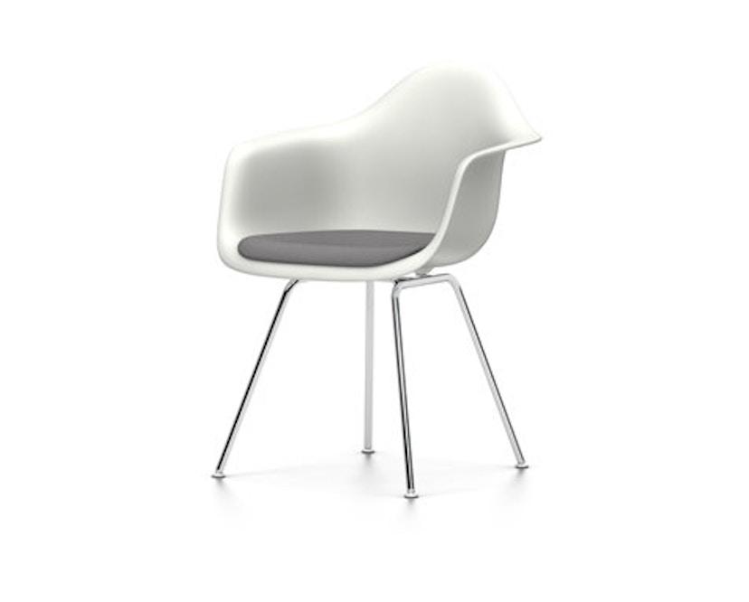 Vitra - DAX mit Sitzpolster - weiß - Sitzhöhe 46 cm - 1