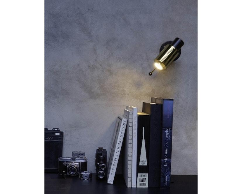 DCW éditions - BINY SPOT Stick Wandleuchte - schwarz/nickel - ohne Schalter - 3