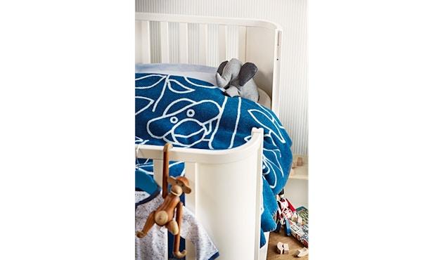 Kay Bojesen - Decke mit Affe - blau - 3