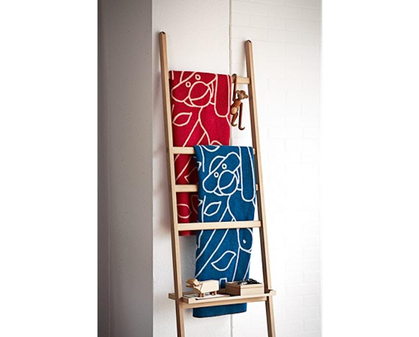 Kay Bojesen - Decke mit Affe - blau - 4