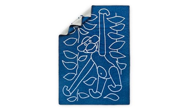 Kay Bojesen - Decke mit Affe - blau - 1