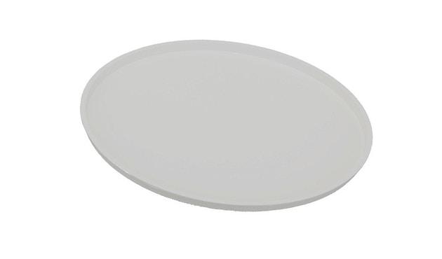 Kartell - Componibili Abschlussplatte für 1er Element - silber - 1