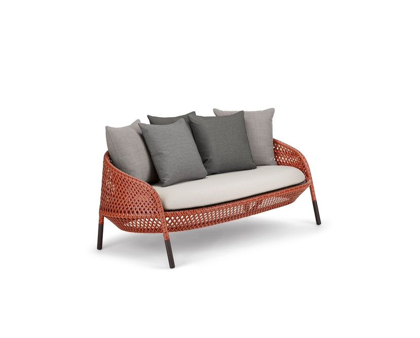 Dedon - Ahnda 2er-Sofa OHNE Kissen - 105 Elemental - 1
