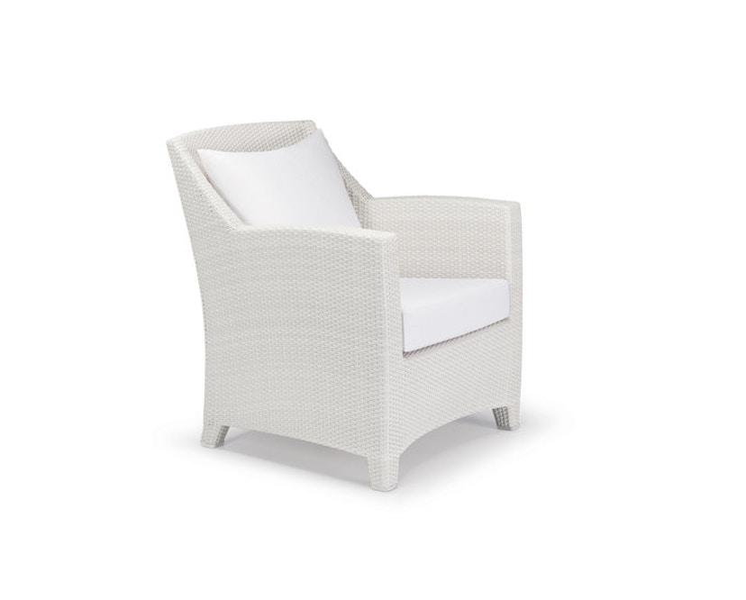 Dedon - Barcelona fauteuil - wit - 1