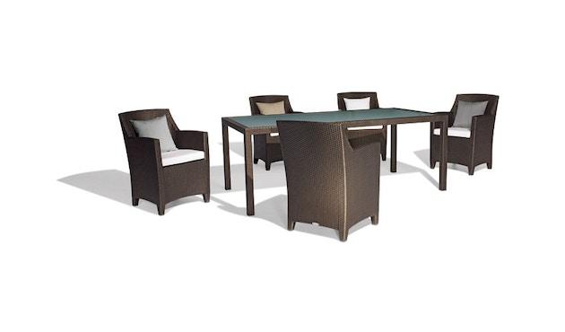 Dedon - Barcelona tafel - wit - 5