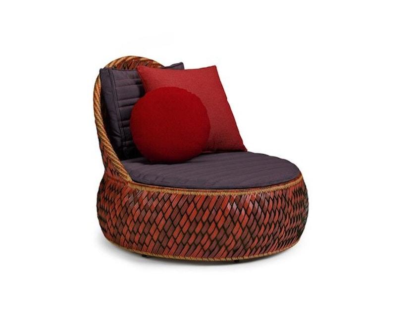 Dedon - Dala Lounge Chair - Coussin d'assise et de dossier - fire - 1