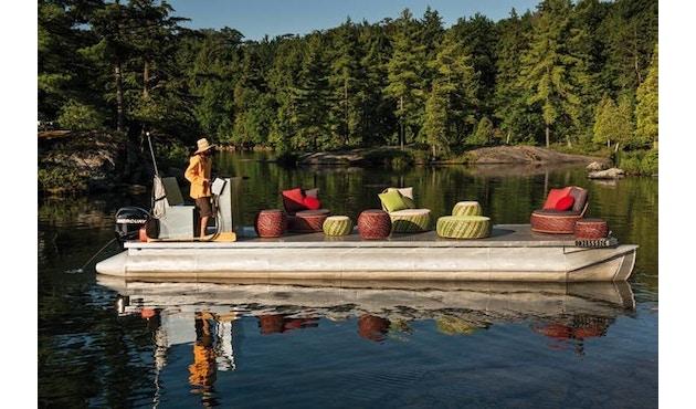 Dedon - Dala Lounge Chair - Coussin d'assise et de dossier - fire - 4