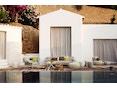 Dedon - Dala Lounge Chair - Coussin d'assise et de dossier - fire - 5