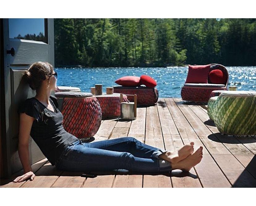 Dedon - Dala Lounge Chair - Coussin d'assise et de dossier - fire - 6