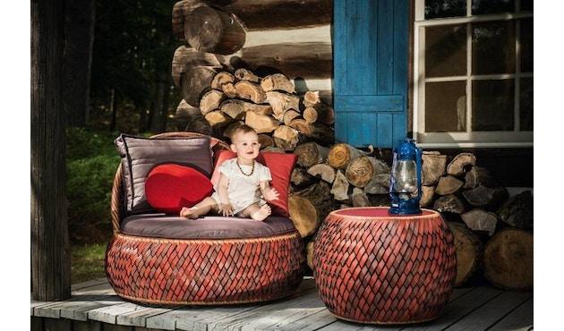 Dedon - Dala Lounge Chair - Coussin d'assise et de dossier - fire - 7