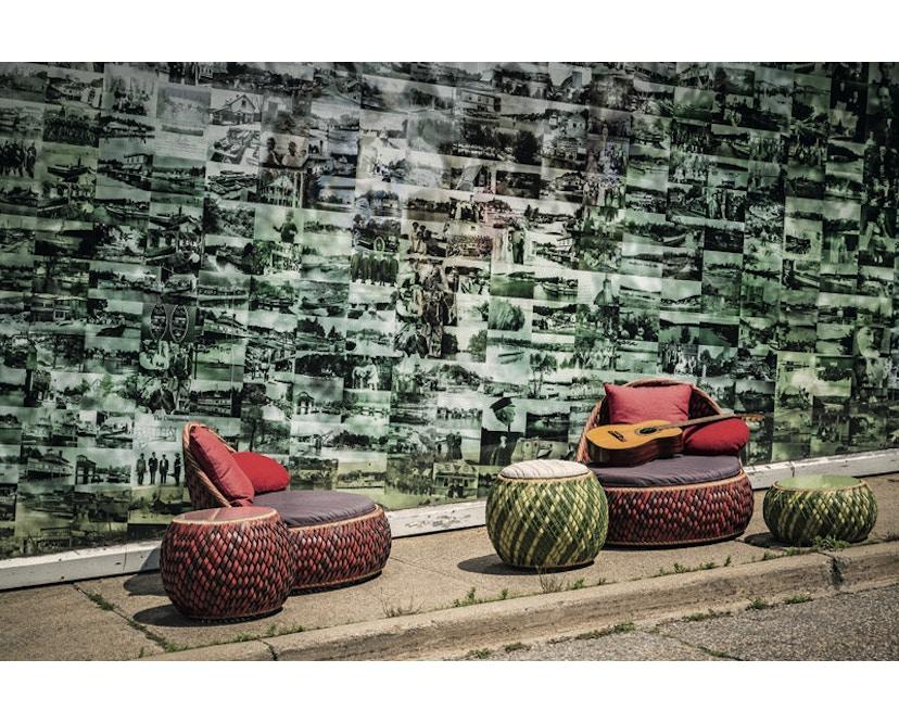 Dedon - Dala Lounge Chair - Coussin d'assise et de dossier - fire - 10