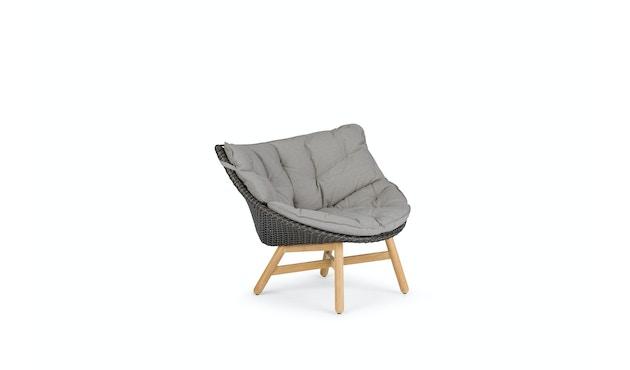 Dedon - Mbrace Lounge Chair - grau - OHNE Polsterauflage - 1