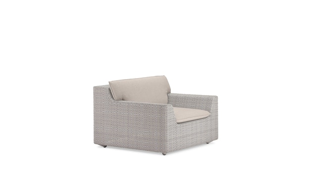 Dedon - Zitkussen + rugkussen Lou fauteuil - 2