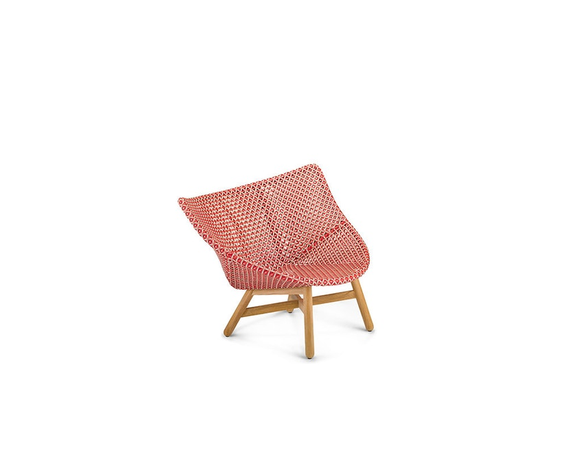 Dedon - Mbrace Lounge Chair - rot - OHNE Polsterauflage - 1