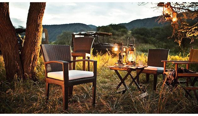 Dedon - Panama Lounge stoel - brons - 2