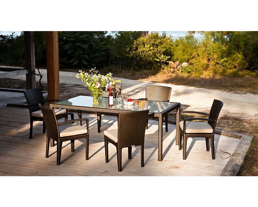 Dedon - Panama Lounge stoel - brons - 3