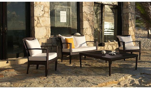 Dedon - Panama Lounge stoel - brons - 4