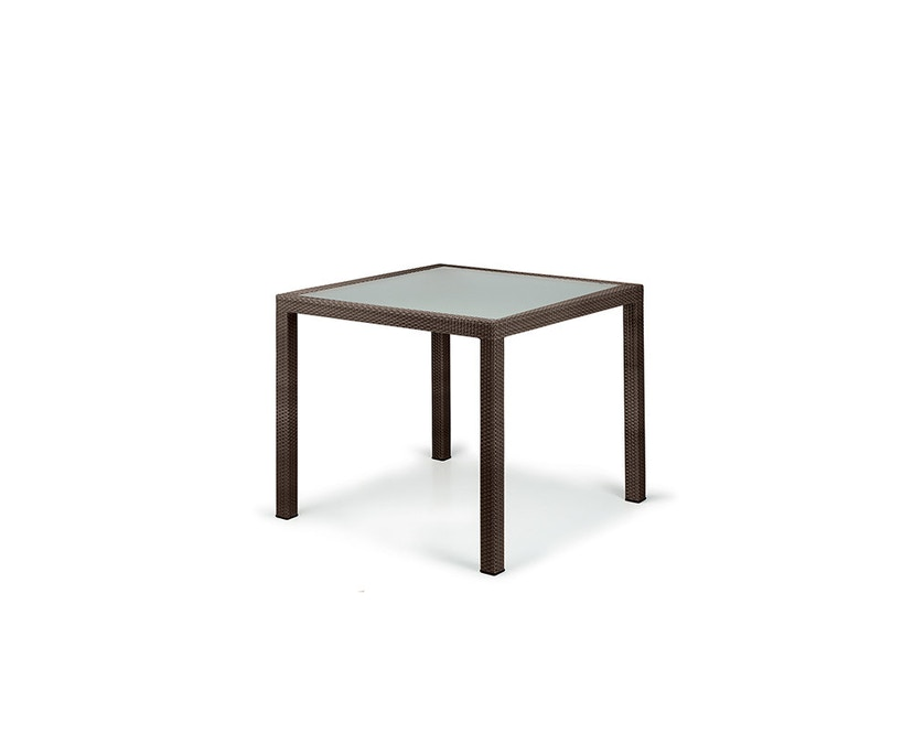 Dedon - Panama tafel vierkant - brons - 1