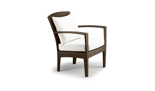 Dedon - Panama Lounge stoel - brons - 1