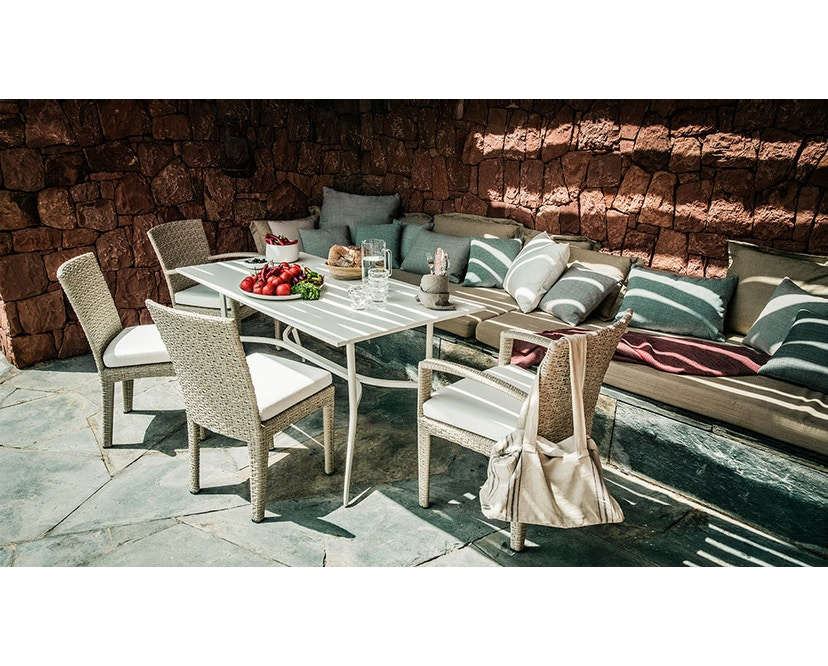 Dedon - Panama Lounge stoel - brons - 5