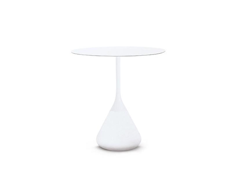 Dedon - Satellite 150 Tisch - rund Ø70 - weiß - 1