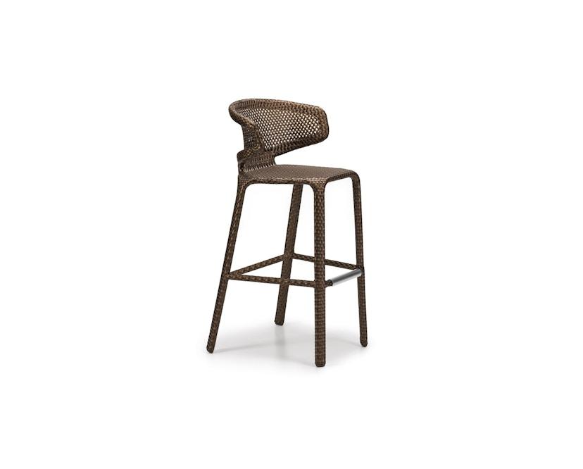 Dedon - Seashell barkruk - brons - 1