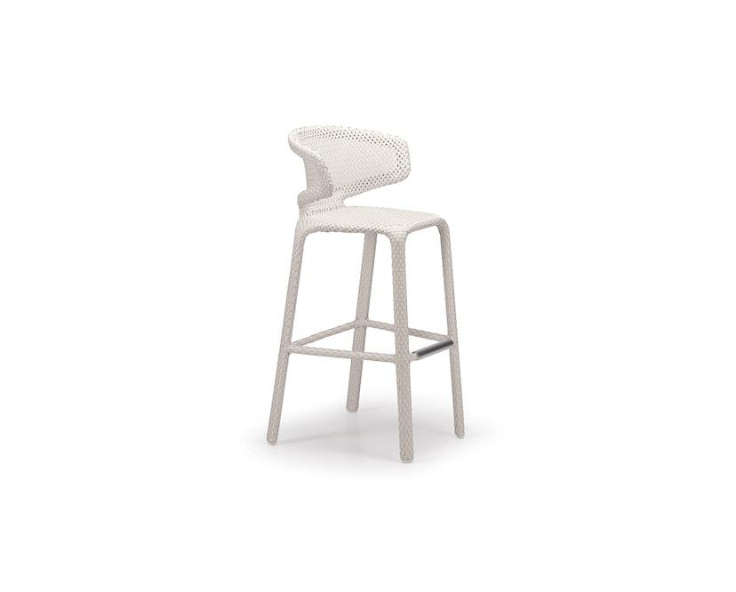 Dedon - Seashell Barhocker - 083 Chalk - 1