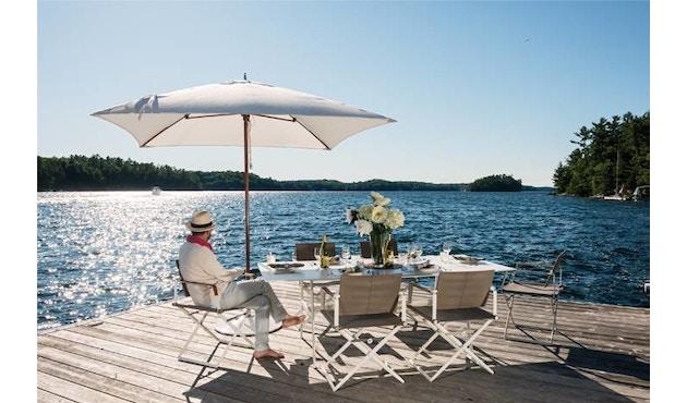 Dedon - SeaX Lounge Chair - zwart - taupe - 6
