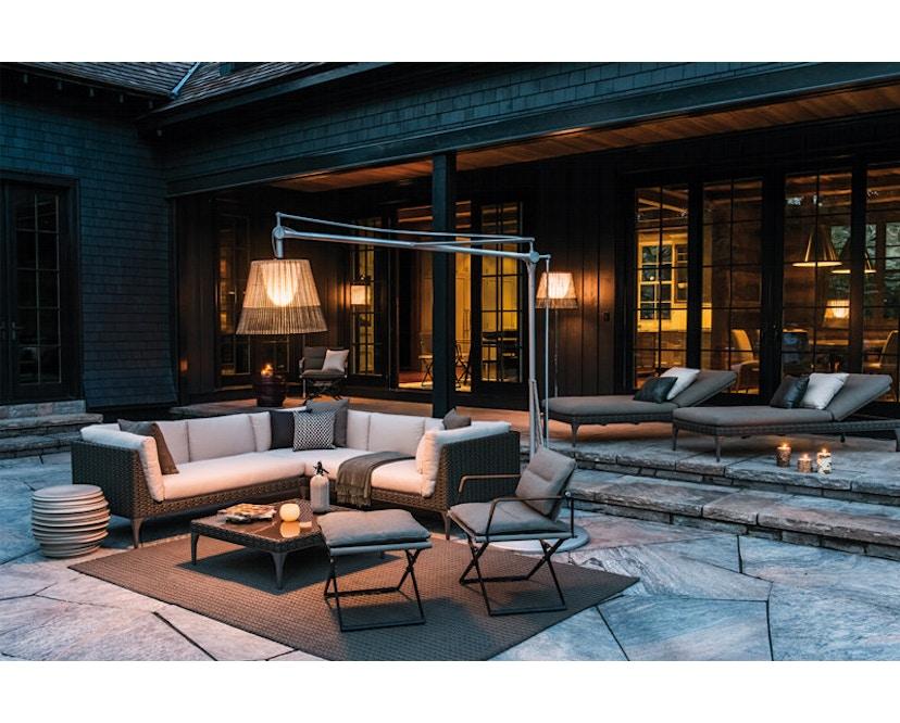 Dedon - SeaX Lounge Chair - zwart - taupe - 7