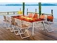 Dedon - SeaX Lounge Chair - schwarz - sail taupe - 8