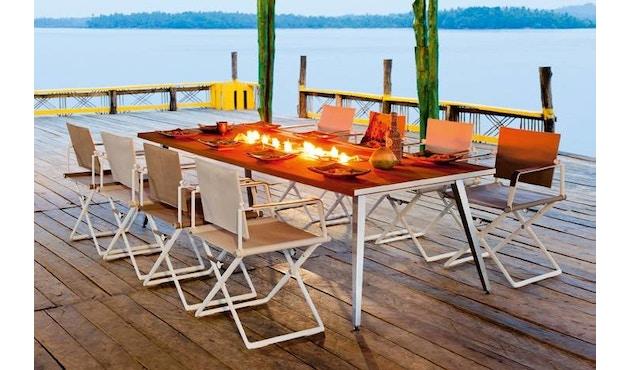 Dedon - SeaX Lounge Chair - zwart - taupe - 8