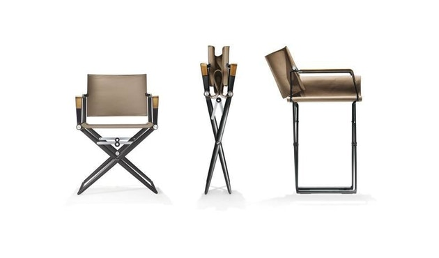 Dedon - SeaX Lounge Chair - zwart - taupe - 9