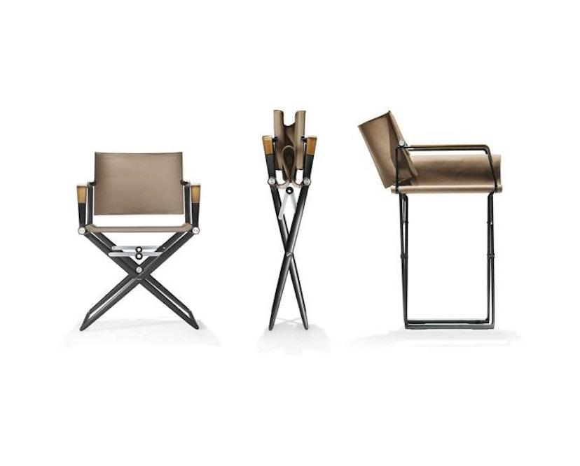 Dedon - SeaX Lounge Chair - schwarz - sail taupe - 9