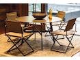 Dedon - SeaX Lounge Chair - zwart - taupe - 10
