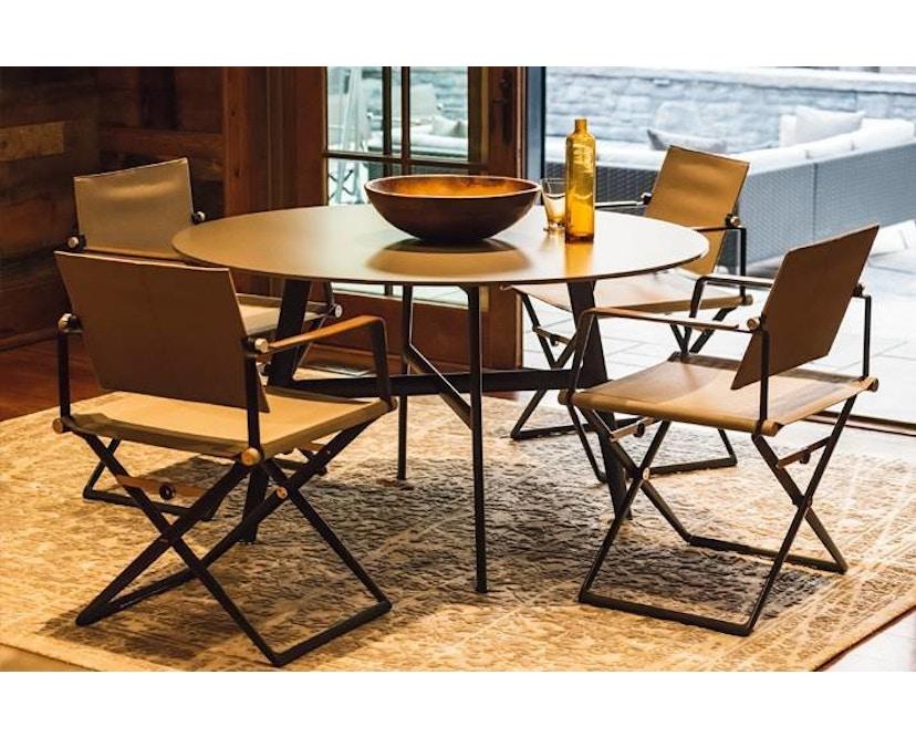 Dedon - SeaX Lounge Chair - schwarz - sail taupe - 10