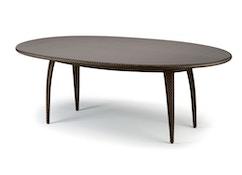 Tango Esstisch oval - bronze