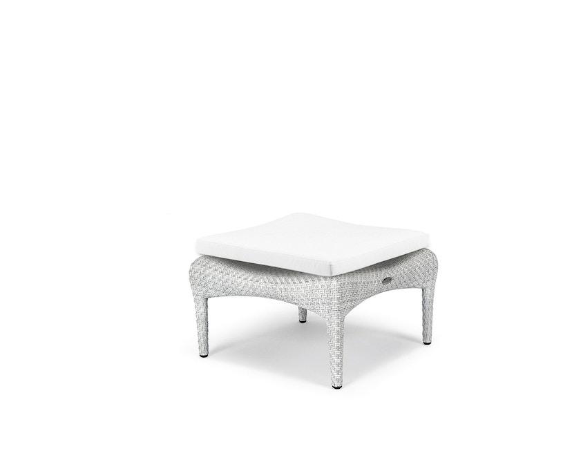 Dedon - Sitzkissen Tango Hocker  - Cool - white450 - 3