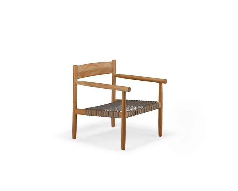 Dedon - Tibbo Sessel - schwarzes Sitzgeflecht - 1