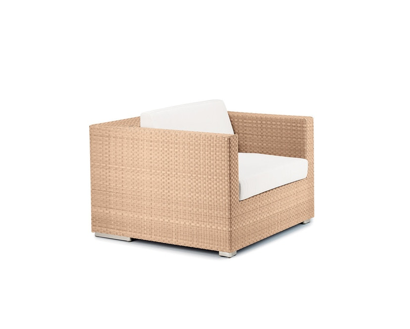 Dedon - Husse Lounge Sessel - beige - 2