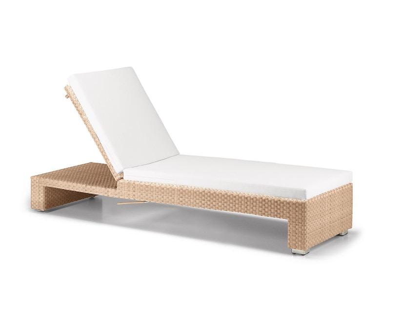 Dedon - Husse Lounge Sonnenliege - beige - 2