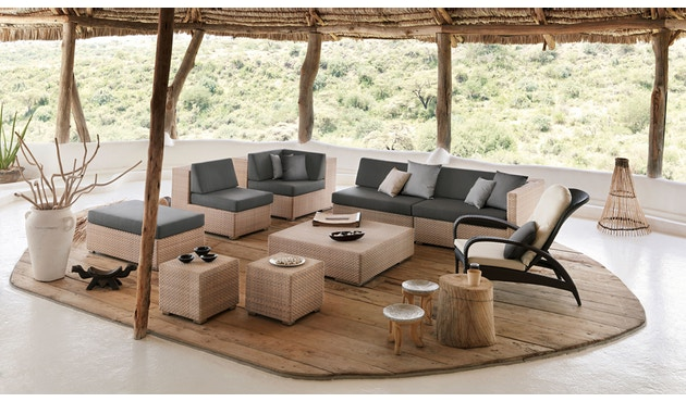 Dedon - Lounge Sessel - java - 2