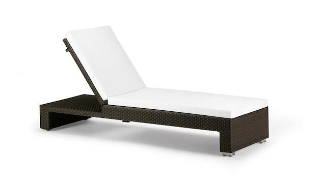 Dedon - Lounge ligstoel - java - donkerbruin - 1