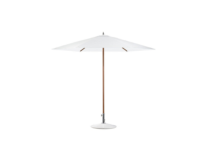 Dedon - Schirmständer Parasol - weiß - 3