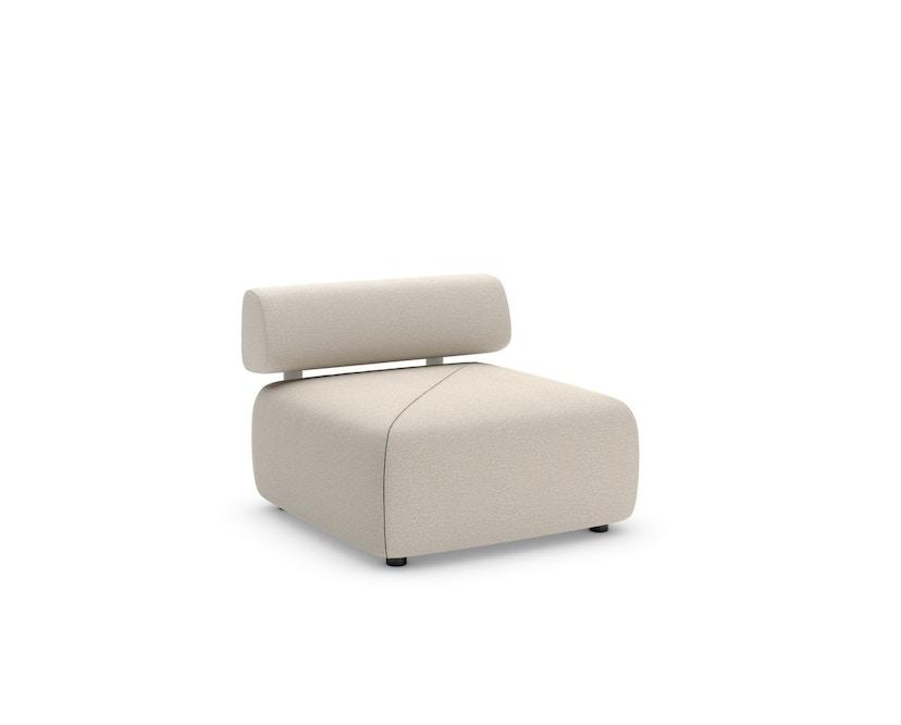 Dedon - Brixx Sofa Modul S - 695 Puno Straw - 1